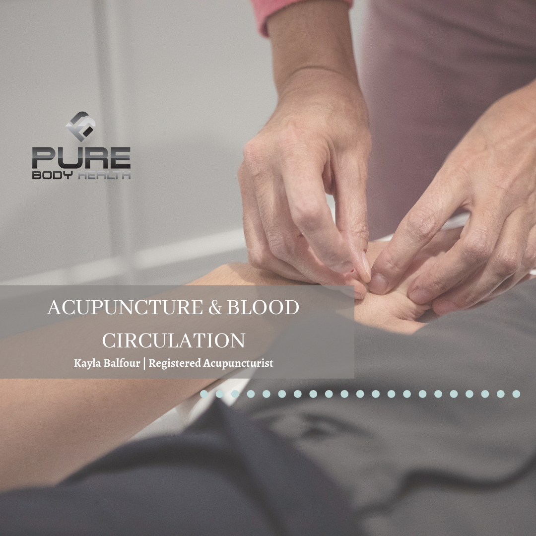 Acupuncture and Blood Circulation - Optimal Living YYJ