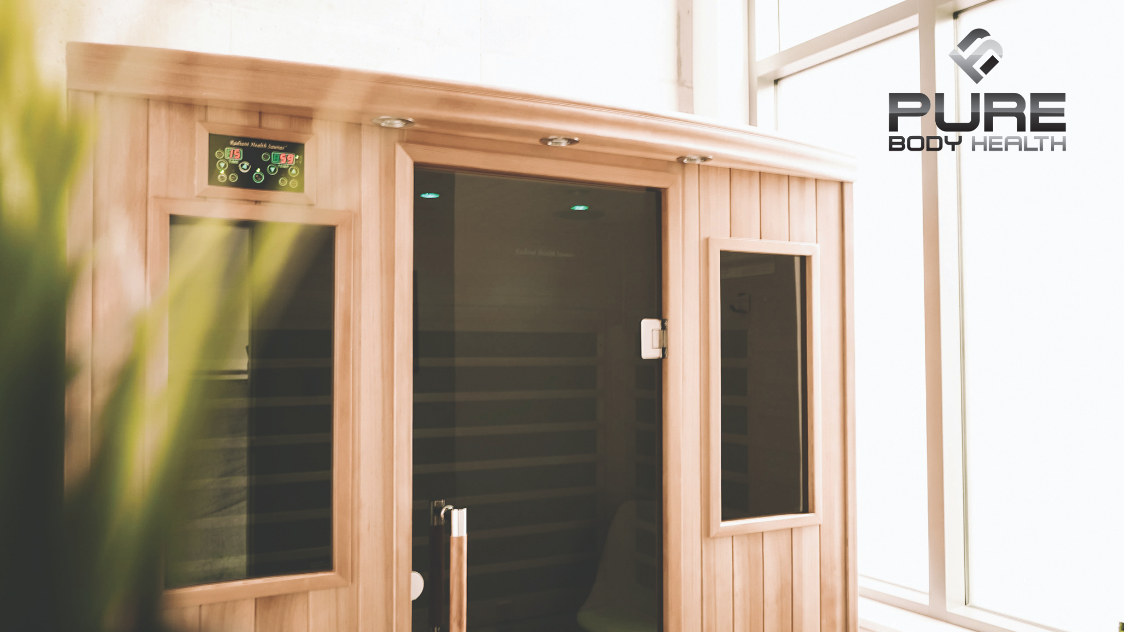 Infrared Sauna Entrance