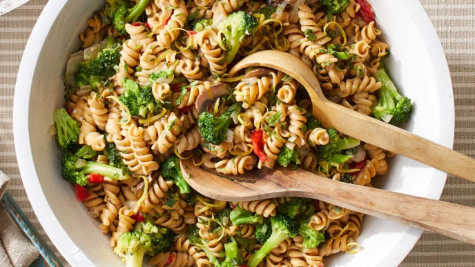Broccoli Rotini with Lemon
